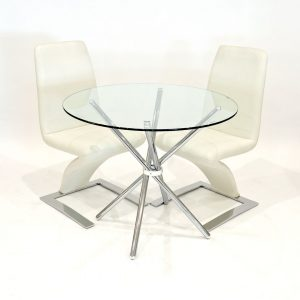 Haverly Dining Set with 2 Chairs