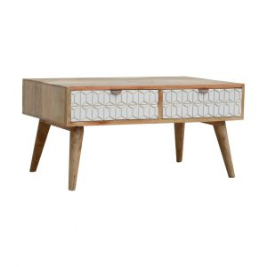 Holbrook Solid Wood Coffee Table with Storage