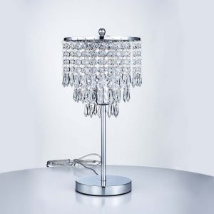 Hull 40Cm Silver Table Lamp
