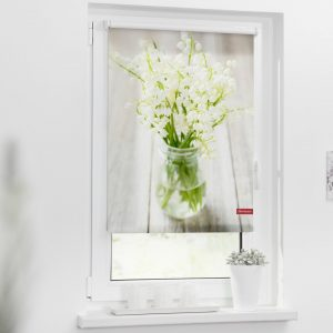 Lily of The Valley Blackout Roller Blind