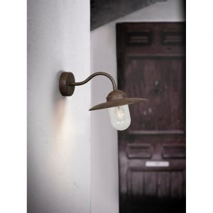 """Luxembourg Copper 27"""" H Outdoor Fisherman Light"""