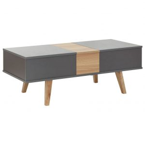 Modena Double Lifting Coffee Table - Grey