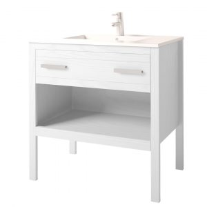 Papak 2 Piece Bathroom Furniture Suite with 1 Drawer