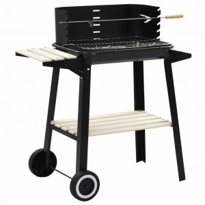 Portable Charcoal Barbecue with Wheels
