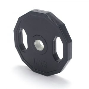 Pro Fitness 10kg Rubber Weights - x2