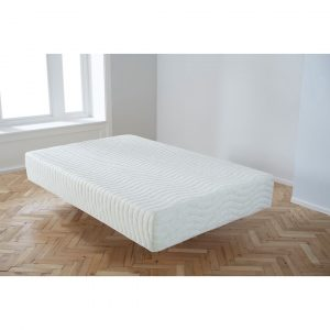 Small Double Alovera Quilted 15Cm Deep Memory Foam Roll Mattress