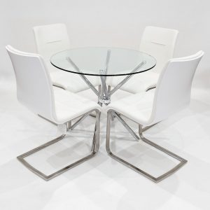 Tamworth Dining Set with 4 Chairs