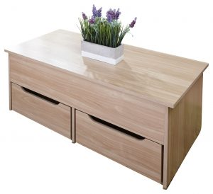 Ultimate Storage 2 Drawer Lifting Coffee Table - Oak Effect