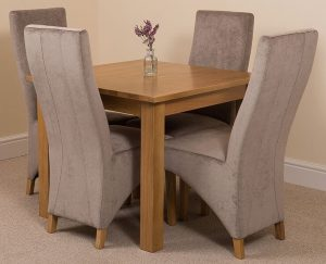 Unionville Kitchen Dining Set with 4 Chairs