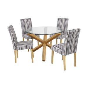 Valle Dining Table with 4 Chairs