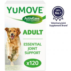 Yumove Joint Supplement Dog Tablets - 120