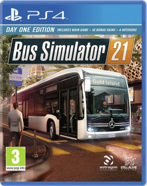 Bus Simulator 21 Day One Edition PS4 Game Pre-Order