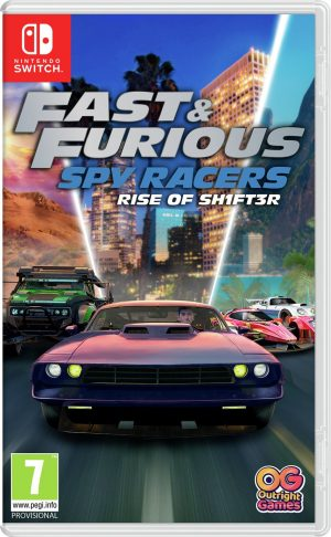 Fast & Furious: Spy Racers Rise Of SH1FT3R Switch Pre-Order
