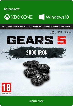 Gears Of Wars 5: 2250 Iron Xbox One Digital Download
