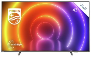 Philips 43 Inch 43PUS8106 Smart 4K UHD HDR LED Freeview TV