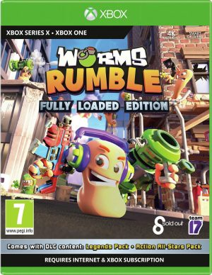 Worms Rumble Xbox One & Xbox Series X Game
