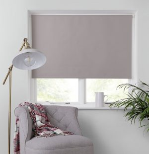 Argos Home Blackout Insulating Roller Blind - 4ft - Taupe