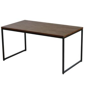 Atico Dark Stained Wood Effect Coffee Table (H)45Cm (W)50Cm