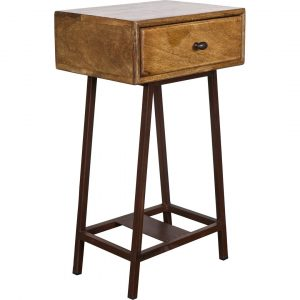 Be Pure Skybox Side Table with Storage