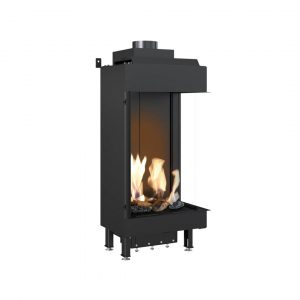Gas Fireplace Leo 45/68 Right For Natural Gas