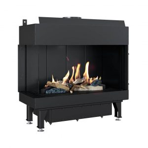 Gas Fireplace Leo 70 Left For Natural Gas