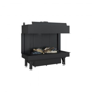 Gas Fireplace Leo 70 Left / Right For Propane Butane Gas Mixture