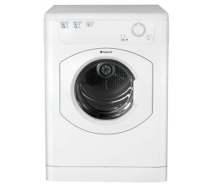 HOTPOINT First Edition FETV60CP Vented Tumble Dryer - White, White