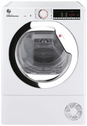 Hoover HLE C9TCE-80 9KG Condenser Tumble Dryer - White