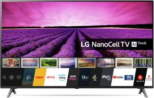 LG 55 Inch 55SM8050 Smart 4K UHD HDR LED Freeview TV