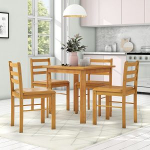 Bert Dining Set with 2 Chairs