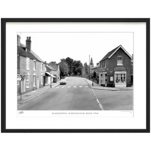 'Blakedown, Birmingham Road 1968' by Francis Frith - Picture Frame Photograph Print on Paper
