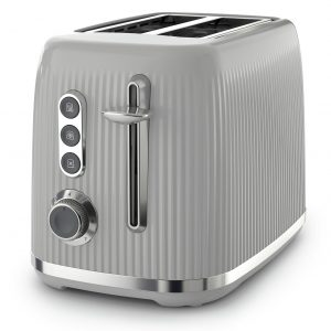 Breville VTR002 Bold 2 Slice Toaster - Grey and Silver