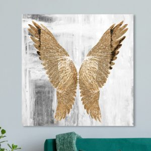 'Fly Away' Graphic Art on Wrapped Canvas