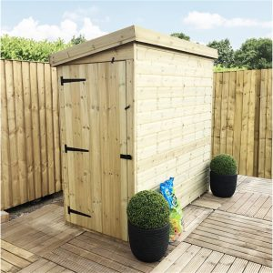 Jammie 5 ft. W x 3 ft. D Solid Wood Garden Shed