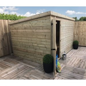 Karrissa 10 ft. W x 5 ft. D Solid Wood Garden Shed