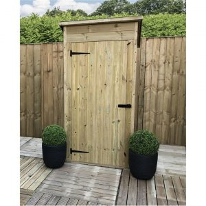 Kenlee 3 ft. W x 2 ft. D Solid Wood Garden Shed