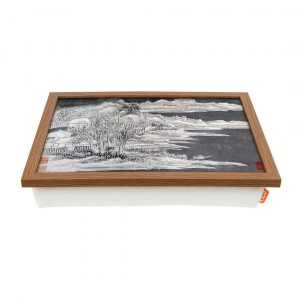 Landscape Vol.10 by Gong Xian Coffee Table Tray