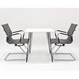 Maguire Dining Set with 2 Chairs