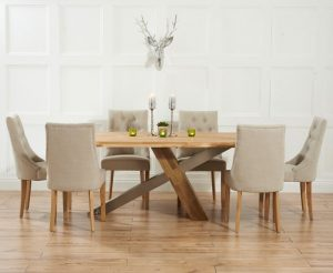 Ohio Dining Set with 6 Chairs