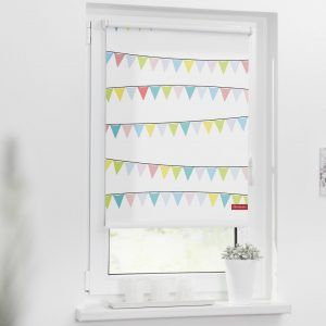 Pennant Chain Blackout Roller Blinds
