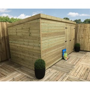 Quealy 12 ft. W x 5 ft. D Solid Wood Garden Shed
