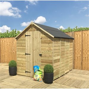 Rochus 4 ft. W x 3 ft. D Solid Wood Garden Shed