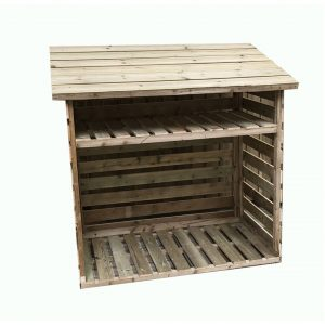 Rosemead 7 ft. W x 2 ft. D Solid Wood Garden Shed