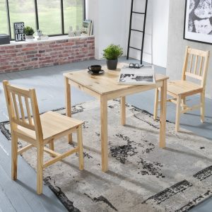 Velma Dining Set with 2 Chairs