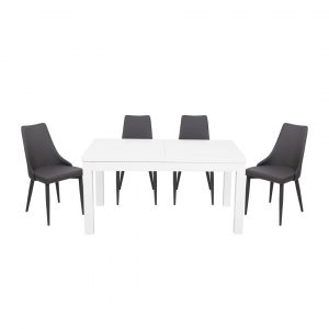 William Dining Set with 6 Chairs