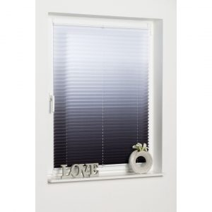 """pleated blind """"colour gradient"""", Symple Stuff, light protection, without drilling, tensioned"""